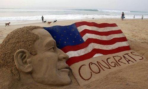 Obama Sculpture