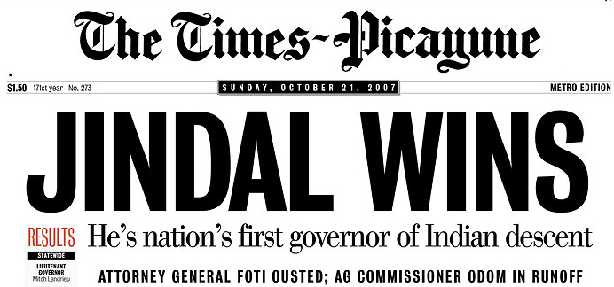THE TIMES PICAYUNE Jindalnola